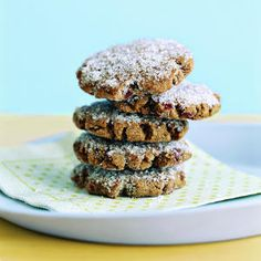 Cranberry Gingerbread Cookies | MyRecipes.com