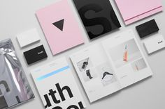 The new brand identity of Studio South. After a new name and website launch, the creative team of Studio South developed a new brand identity that reflects