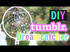 DIY Tumblr Dreamcatcher Tutorial!!   Gillian Bower - YouTube