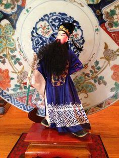 Wonderful Chinese Opera Doll from 19401950 by Ritzco on Etsy, $90.00