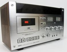 Akai GXC-570D II  Stereo Cassette Recording Deck     This deck is ranked among the best from Akai and that's saying something (good). The unique tinted panel was motorized and raised by touching a button to reveal a bevy of buttons and controls.
