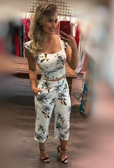 Conjunto Cropped Mais Pantacourt
