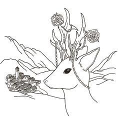 """Link """"Cuentos delgados""""- https://www.instagram.com/cuentos_delgados/ Illustration from the book """"Cuentos delgados"""" by Félix Darío Ruggeri and Simona Ruggeri - Editorial Adarve - Ilustración del libro """"Cuentos delgados"""". Autores Félix Darío Ruggeri y Simona Ruggeri - Editorial Adarve #cuentos #ilustracion  #cienciaficcion  #relato #dibujo #relatocorto #shortstory #art #illustration #blackandwhite #scifi #cat #insect #amazing #mermaid #fantasy #skull #wolf #manhattan #ebook #surrealism…"""