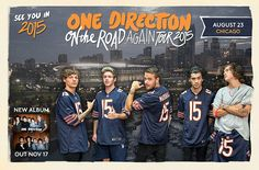 One Direction Announce 'On The Road Again' World TourDates - Chicago's B96 - 96.3 FM 1D, Chicago, dance music, new tour dates announced, Niall Horan, on the road again world tour, One Direction, one directioners, pop music, rock music, sexy, Soldier Field