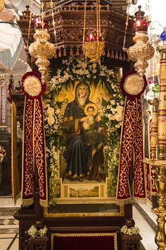 Prayer For Family, Queen Of Heaven, Sainte Marie, Russian Orthodox, Blessed Virgin Mary, Orthodox Icons, Home Photo, Byzantine, Jesus Christ