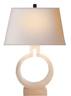 Lighting - Small-ring-table-lamp - Visual Comfort