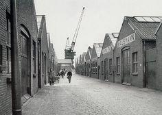 Sluisjesdijk Bedrijven achter Simca Aronde Fabriek1960