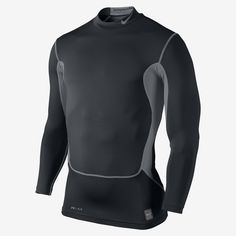 06feec29efd3 Nike Pro Combat Hyperwarm Compression Dri-FIT Max Men s Mock.