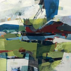 new work - Alice Sheridan Landscape Artwork, Abstract Landscape Painting, Abstract Oil, Abstract Paintings, Abstract Images, Painting Inspiration, Art Inspo, Les Oeuvres, Amazing Art