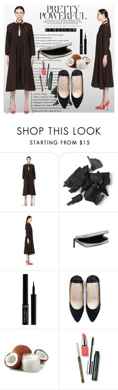 """Svmoscow"" by sabine-rose ❤ liked on Polyvore featuring Vetements, Maison Margiela, Giorgio Armani and Clinique"