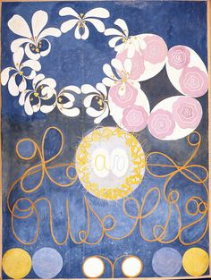 An exhibition in Stockholm aims to show Hilma af Klint as an innovator of abstract art years before Kandinsky, Mondrian and other leaders of the movement. Piet Mondrian, Wassily Kandinsky, Art Floral, Illustration Botanique, Illustration Art, Painting Prints, Canvas Prints, Art Prints, Hilma Af Klint