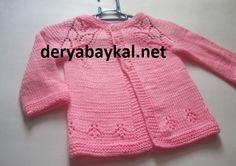 Bebek Pembe Hirka Yapilişi Baby Vest, Knitting, Pattern, Sweaters, Clothes, Fashion, Tricot, Outfits, Moda