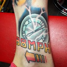 "Community Post: 24 ""Back To The Future"" Tattoos That Will Blow Your Mind"