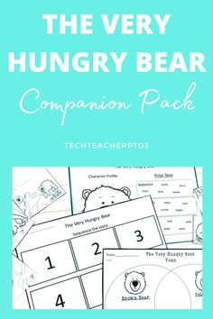This activity pack will assist your students to practice retelling and sequencing stories. It's jam-packed with fun activities such as story sliders, masks and cut-outs to help take students through the sequencing of a story. #techteacherpto3 #nickbland #veryhungrybear #literacy