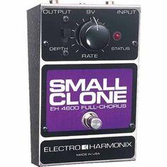 Electro Harmonix Small Clone Chorus pédale à Gear4Music.com