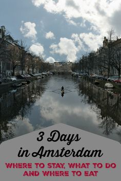 What to do in Amsterdam, where to stay and places to eat. A complete itinerary for 3 days in Amsterdam in winter, all you need to plan your trip to this amazing city in The Netherlands.  via @loveandroad