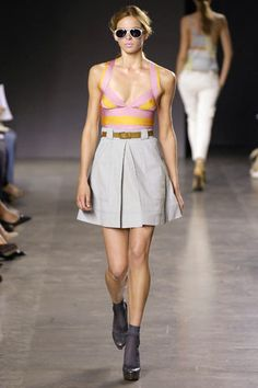 Proenza Schouler Spring 2007 Ready-to-Wear Fashion Show - Olya Ivanisevic