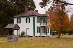 Harper House Bentonville  My mother was born here