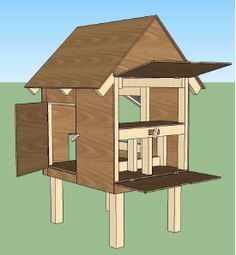 Build your own chicken coops or hen houses.   www.mysheddesigns.com