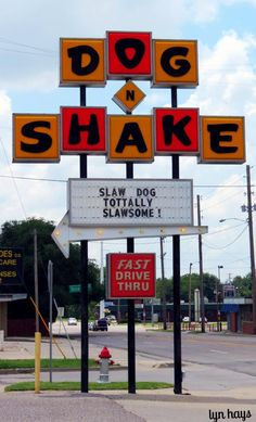 Slaw Dog baby! Wichita, Kansas Since 1948, Dog-N-Shake has been the home of the Original Toasted Bun and one of Wichita's most recognized burger shops.