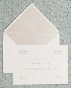 Clássico - cor interna do envelope destaca as letras