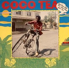 Love this album cover from this classic early 80s Dancehall vocal album from Cocoa Tea on Volcano Records http://reggaealbumcovers.com/2009/11/cocoa-tea-weh-dem-a-go-do-cant-stop-cocoa-tea/