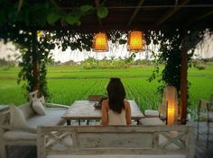 Could Seminyak be Bali's hippest district? Nook Cafe, Village House Design, Restaurant Seating, Restaurant Ideas, Basket Lighting, Farm Stay, Bali Travel, Tropical Houses, Interior Design Tips