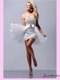Beading Mini Short 2013 Prom Dress