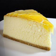 Cottage Yogurt Cheesecake – My Delicious Food - Dessert Lemon Cheesecake Recipes, Lemon Desserts, No Bake Desserts, Delicious Desserts, Yummy Food, Strawberry Cheesecake, Chocolate Cheesecake, Sheet Cake Recipes, Easy Cake Recipes