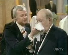 'a glass of water for mr grainger!' -