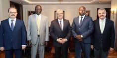 Başbakan Yardımcısı Kaynak, Uganda Bakanı Onek'i kabul etti