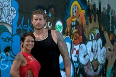 Founders of Tatted and Shredded...Kalyn Blacklock...and Philip Mayberry