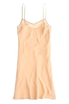 9 Ways To Upgrade Your Underwear Drawer  #refinery29  http://www.refinery29.com/underwear-drawer#slide-8  The See-Through-Dress SaviorIf you don't already own a silk slip, add it to your shopping list. This piece will save you so much agony when you realize that dress you just purchased is, in fact, sheer. It's also cute worn by itself — a true, double-duty garment.