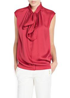 MANGO - CLOTHING - Bow blouse