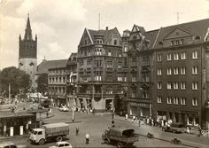 Rynek (Ring / Marktplatz / pl. Maciejewskiej), Bytom - 1962 rok, stare zdjęcia