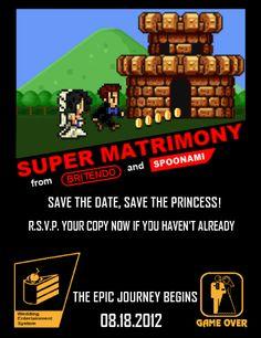 Kotaku's 11 Great Video Game Wedding Invitations