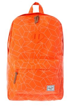 HERSCHEL HERITAGE, herschel, heritage, herschel backpack, heritage backpack, herschel orange, heritage orange, orange, orange backpack, backpack, bag, accessories, official,