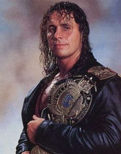 Bret Hart wrestling belt    -One of the most technically sound wrestlers.