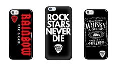 Official phone cases from The Whisky a-Go-Go, and The Rainbow Bar & Grill. Available exclusively at www.sunsetstriplegends.com