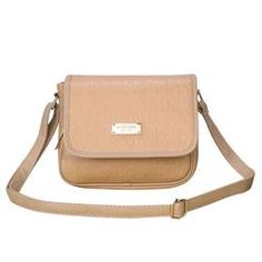 Fashion Michael Kors Signature Logo Medium Apricot Crossbody Bags Online!