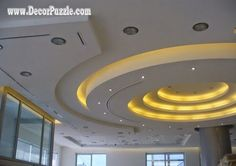 new pop false ceiling design catalogue, false ceiling lighting ideas, led ceiling lights Ceiling Design Living Room, Pop False Ceiling Design, False Ceiling Living Room, Bedroom Ceiling, Living Room Designs, Ceiling Lighting, Gypsum Ceiling, Ceiling Ideas, Ceiling Decor