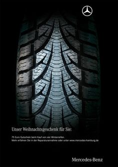 Mercedes christmas advertisement