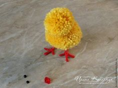 "Master class: ""Easter chickens from pompons"" - a master class for beginners and professionals Master Class, Crafts For Kids, Projects To Try, Crochet, Easter Chickens, Flowers, Blog, Masters, Crafting"