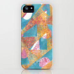 Gel Print 5 iPhone Case by Rachel Winkelman - $35.00
