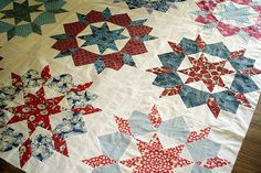 """Big block quilt pattern called Swoon by Camille of Thimble Blossoms. Another one on my """"to do"""" list."""