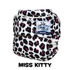 We LOVE our Miss Kitty SoftBums Omni Shell! The Best cloth diaper I've seen to get a custom fit for your little one!