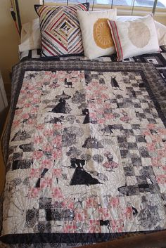 Ghastlies Quilt by tinyglutton, via Flickr