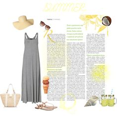 At the beach by michellewl on Polyvore featuring Modström, J.Crew, Old Navy, MANGO and Forever New