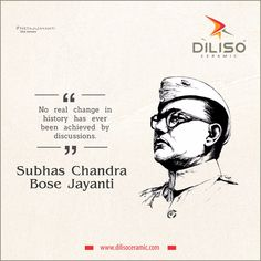 No real change in history has ever been achieved by discussions. Subhas Chandra Bose, Independence Day Poster, Indian Freedom Fighters, Hd Design, Happy Onam, National Days, Beautiful Nature Wallpaper, Durga Maa, Good Morning Greetings