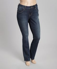 Another great find on #zulily! Melrose Jackson Denim Straight-Leg Jeans - Plus by Jag Jeans #zulilyfinds